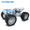 Self Assemble Blocks Building Vehicle Toys DIY RC Car Drift 1:10