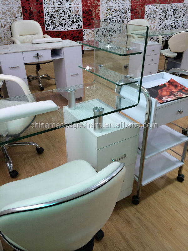 Unique newest styling manicure tables used buy manicure for Nail table and chairs