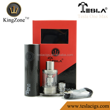 2015 tesla one max mod Top Sale electronic cigarette vaporizer pen mod tesla one max