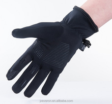 Comfortable windblock touch screen sports gloves