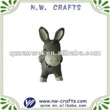 Small donkey figurine promotional gifts