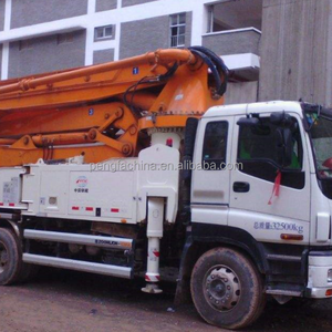 Concrete Pump for sale in UAE, 49m Concrete boom pump truck Hot Sale