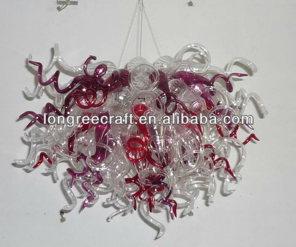 Amazing Murano Glass Light Moroccan Crystal Chandelier