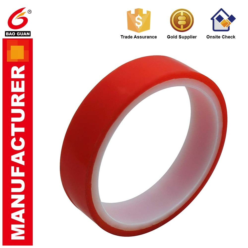 Die-cut Double Sided Tape Pet/polyester Acrylic Adhesive Tape Die-Cutting China Supplier