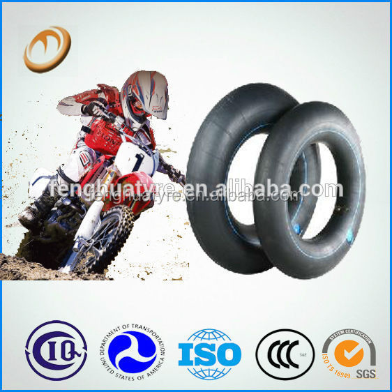 top quality but cheap price made in China 325/350-16 natural/butyl rubber motorcycle inner tube 16