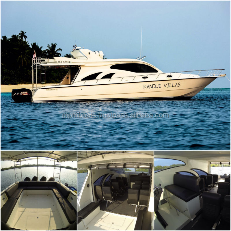 Brand New Marathon 53 Transporter Luxury Passenger Yacht from Indonesia