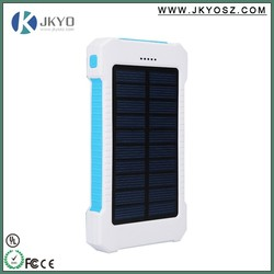 high capacity power bank innovative products for import/anker 8000mah dual usb solar power bank battery charger for mobile phone