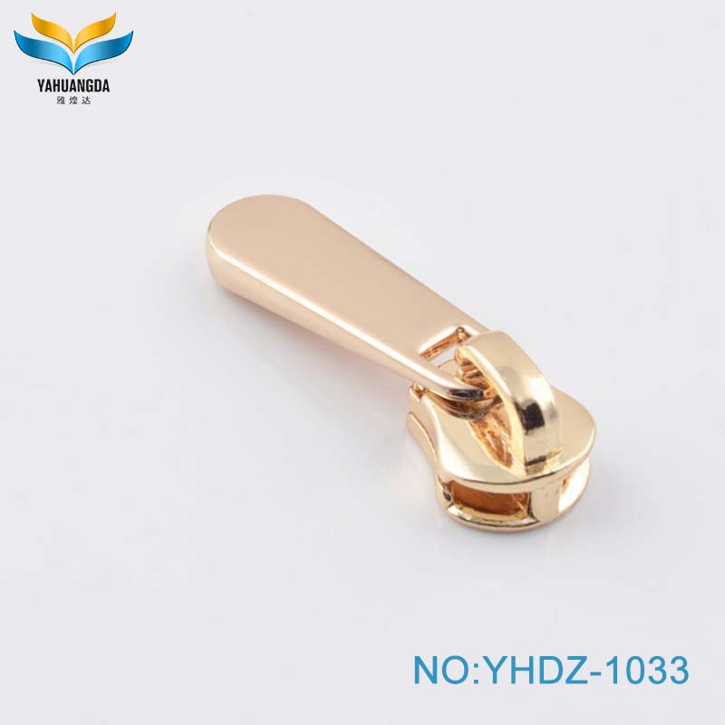 quality popular design metal zipper puller for clothes