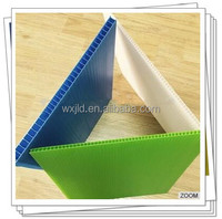 UV protection pp twin wall plastic sheet