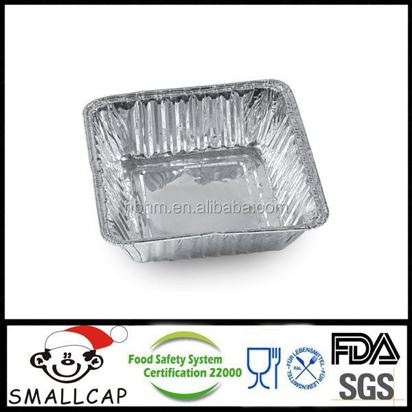 Small Aluminium Foil Container bakey cake pan