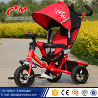 3 in 1 Kids Tricycle hot selling /New Model Baby Tricycle/ CE Approval Children Tricycle Big Fabric Basket