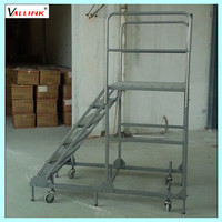 metal collapsible ladder step ladder