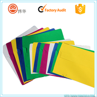 Quality assured decorative wholesale cmyk printed colored manila paper gift envelope for birthday