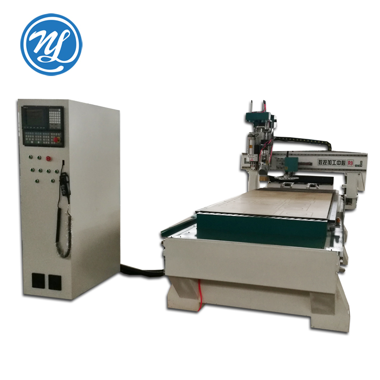 CNC engraving and cutting machine NDM1325 with servo motor