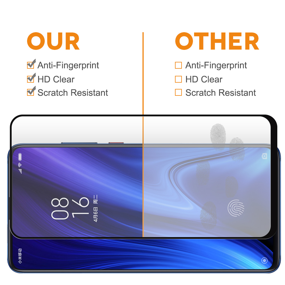 For Redmi K20 pro tempered glass, for Redmi K20 pro tempered glass screen protector