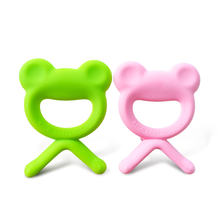 bpa free food grade baby toy silicone baby teether