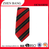 Factory Custom logo Men Wholesale Painted Silk Tie