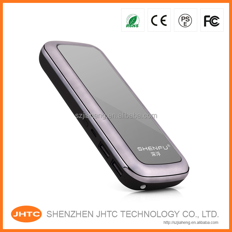 10000mah Portable li-ion bttery power bank for hp song mobile phone charger