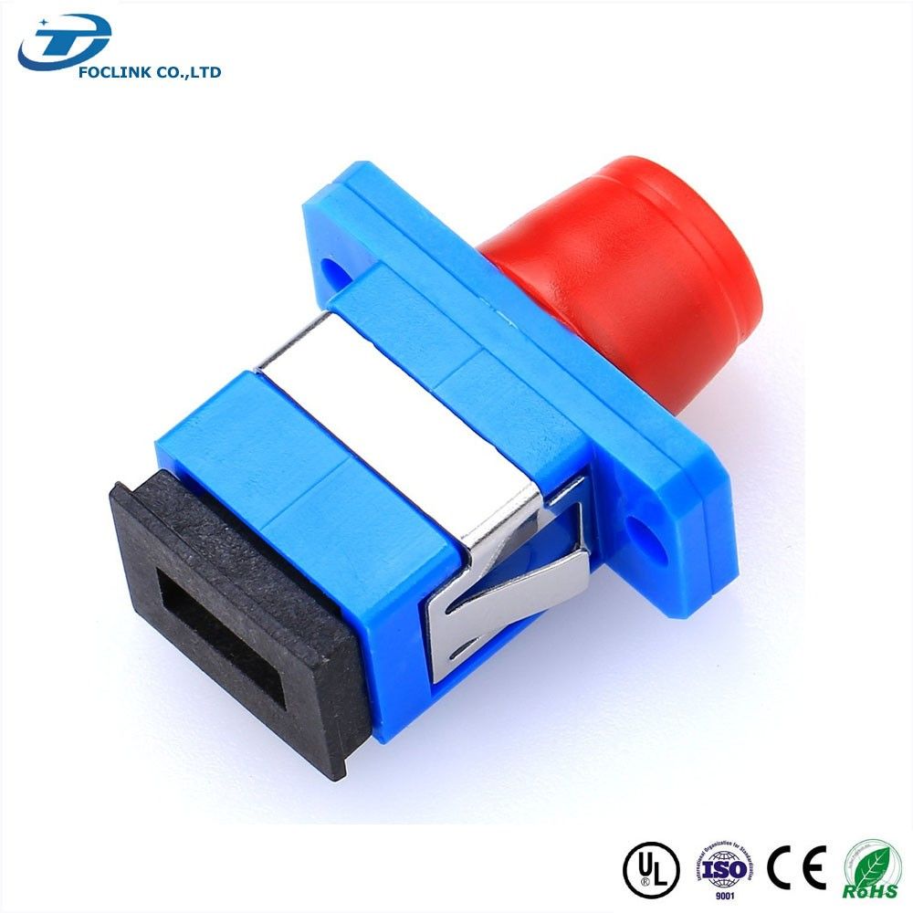 FC-SC duplex fiber optical adaptor / sc fc optical hybrid adapter / fc sc adapter