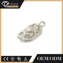 Top quality designs for women, real silver 925 charm, sport jewelry pendant