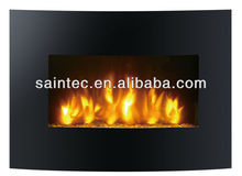 Slim Innovative Wall Mounted Electric Fireplace with Remote Control