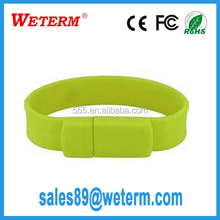 Custom Logo silicone 16gb usb stick logo cooperation gifts