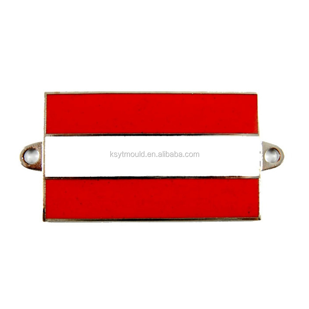 Custom metal pin badges car badge flag pins