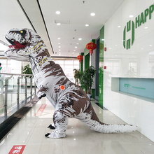 Good quality Giant Animal Inflatable dinosaur costume walking dinosaur model factory price