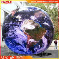 large inflatable earth shape inflatable globe helium balloon with best price