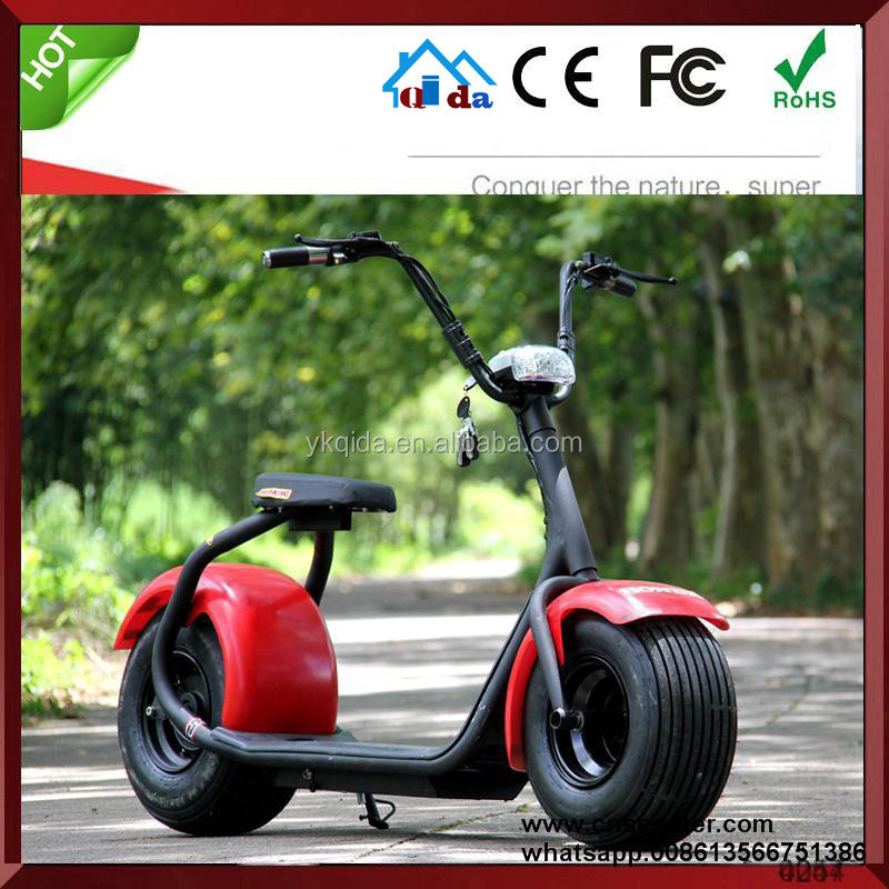 Newest China sport electric scooter off road motorbike with big wheel