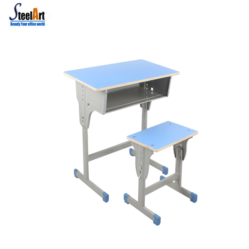 Hot sale school furniture classroom used student desk chair school environmental student chair and table
