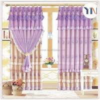 cheap price lovely lace curtain fabric for wedding