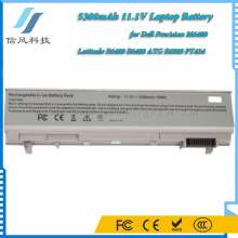 5200mAh 11.1V Laptop Battery for Dell Precision M6400 Latitude E6500 Battery E6400 Battery Gray