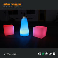 LED bar table lighting glowing bar furniture