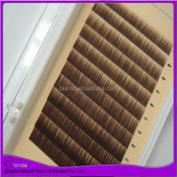 silk soft high quality eyebrow extensions