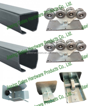 1200kg cantilever gate kits with roller and rail for heavy duty sliding door roller