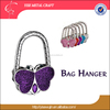 Wedding gift butterfly shape bag hangers/ bag hanger hooks/ bag holder hangers