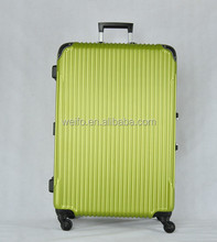 2015 hot SALE, abs good quality ALUMINIUM FRAME LUGGAGE SUITCASE