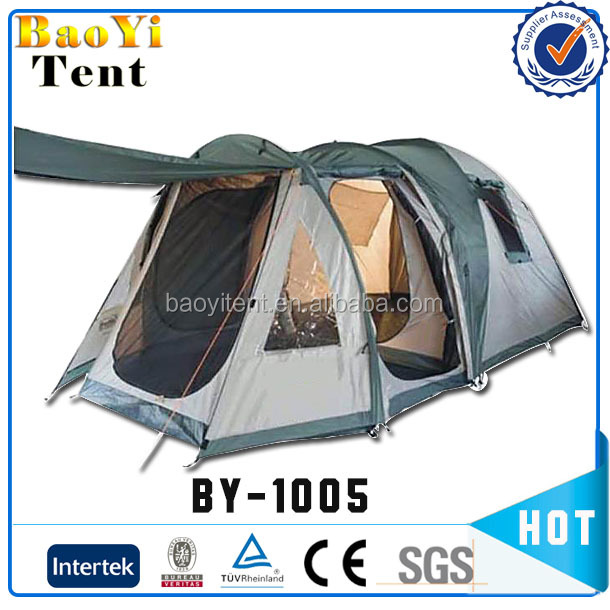 Heated privacy outdoor bed camping tents