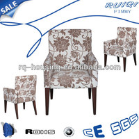 French style provincial arm chair upholstered dining chairs with arms