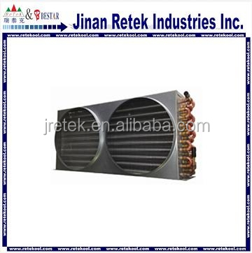 Aluminum fin copper tube air cooled condenser