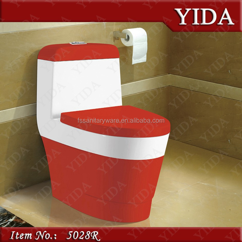 Baño Color Verde Agua: color agua closet con desaceleración funda de asiento, Blanco/verde