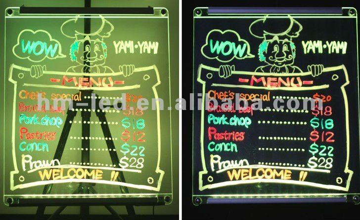 led display for DIY ,led open sign/flash led writing panel
