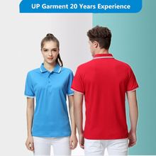 Manufactory embroidered 100% microfiber polyester polo t shirts