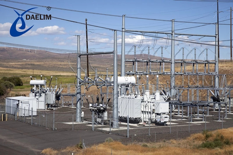 High efficiency 3 winding 110kv 10 mw substation