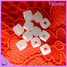 Stylish High Quality Crystal Treasures Glass Beads / Flat Round Crystal Glass Beads