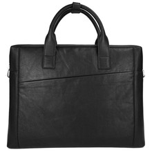 Hot selling soft leather old fashion briefcase