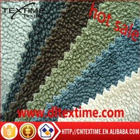 polyester fabric for sofa polyester warp knitted sofa fabric