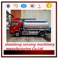 Leaf Spring Suspension/air suspension oil truck trailer cooking oil aluminum alloy oil tanker semi-trailer