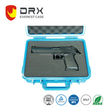 Custom Made Plastic Hard Gun Cases hard plastic injection molded case With Foam Insert